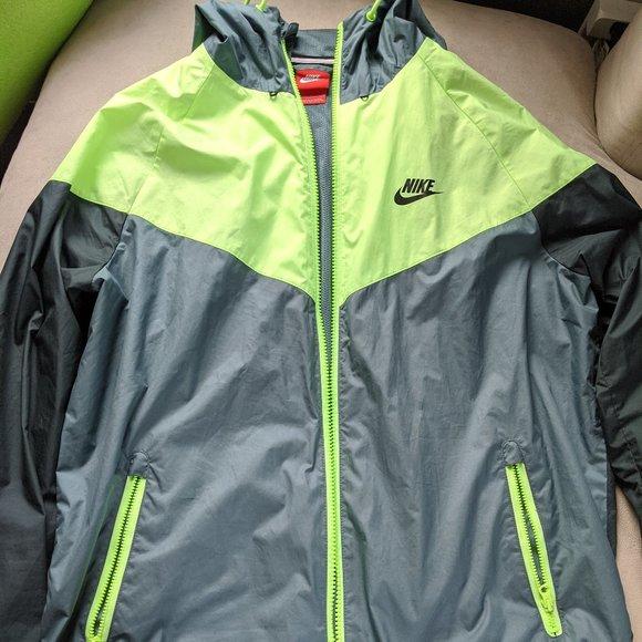 Nike Green Windrunner Jacket